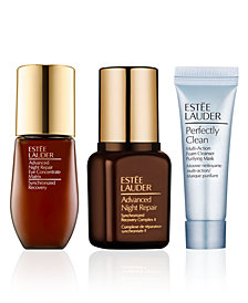 Choose your Free 3 pc gift with $75 Lauder Makeup or Skincare purchase!
