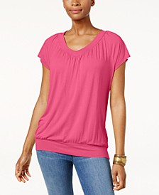 Blouson T-Shirt, Created for Macy's