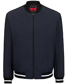 HUGO Men's Bestino1921 Slim-Fit Bomber Jacket