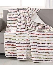 "Bella Ruffle Throw 50"" x 60"""