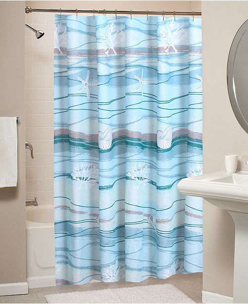 Greenland Home Fashions Maui Bath Shower Curtain
