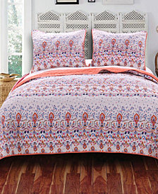 Amber Quilt Set, 3-Piece Full - Queen