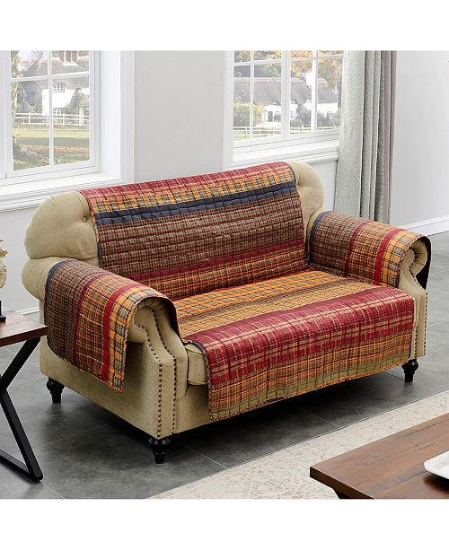 Greenland Home Fashions Rush Furniture Protector Loveseat