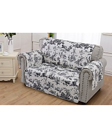 Classic Toile Furniture Protector Loveseat