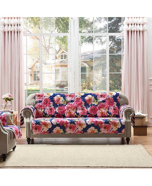 Greenland Home Fashions Peony Posy Furniture Protector Sofa