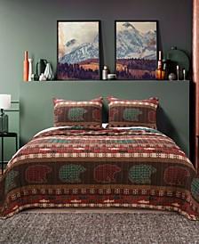 Canyon Creek Quilt Set, 3-Piece Full - Queen