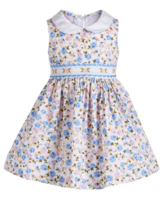 Baby Girls Ditsy Floral-Print Dress, Created for Macy's