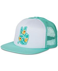 Neff Men's Peace Mesh Trucker Hat