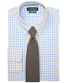 Lauren Ralph Lauren Men's Classic Fit Gingham Dress Shirt