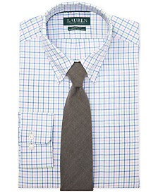 Lauren Ralph Lauren Men's Classic Fit Gingham Dress Shirt