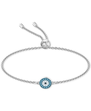 Swarovski Slippers MULTI-PAVE EVIL EYE SLIDER BRACELET