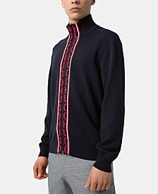 HUGO Hugo Boss Men's Full-Zip Sweater