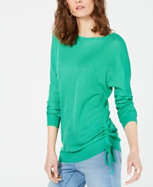 I.N.C. Drawstring Dolman Sweater, Created for Macy's
