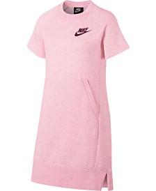 Nike Big Girls Sportswear Fleece Dress