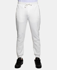 Men's Classic-Fit Stretch Logo Tape Track Pants