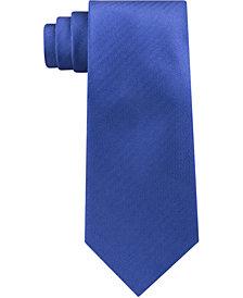 Michael Kors Men's Premium Light Solid Slim Silk Tie