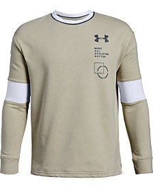 Under Armour Big Boys Rival Terry Sweatshirt