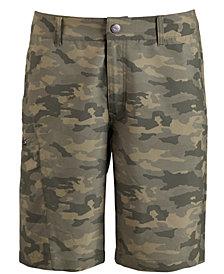 Hi-Tec Men's Camo Hybrid Shorts