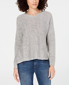 Eileen Fisher Organic High-Low Sweater