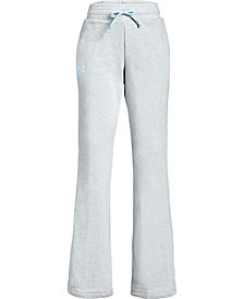 Under Armour Big Girls Rival French Terry Track Pants
