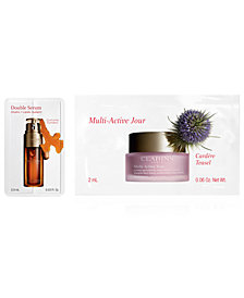 Free Multi-Active and Double Serum packette with your trend skincare purchase