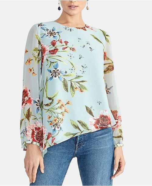RACHEL Rachel Roy Susana Asymmetrical Top, Created for Macy's