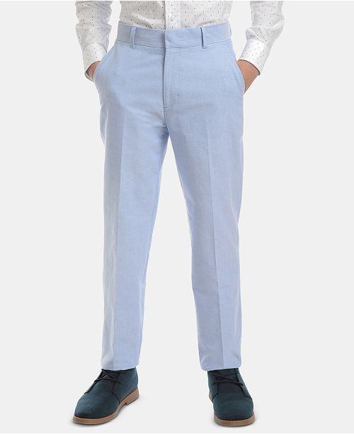 Tommy Hilfiger Big Boys Oxford Cotton Pants