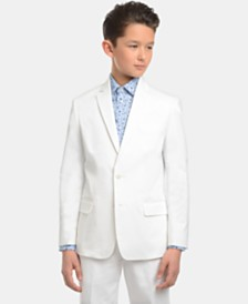 Tommy Hilfiger Big Boys Fine Twill Suit Jacket