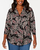 Charter Club Plus Size Clothing - Macy s 4759a9891