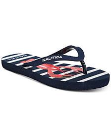 Nautica Little & Big Girls Hatcher Flip-Flops