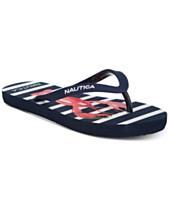 a276d1927 Nautica Little & Big Girls Hatcher Flip-Flops