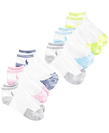 Polo Ralph Lauren Little & Big Girls 6-Pk. Marled Socks
