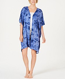 Light Weight Printed Short-Sleeve Wrap, Created for Macy's