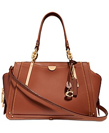 Dreamer Satchel in Smooth Leather