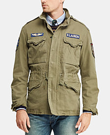 Polo Ralph Lauren Men's Cotton Twill Field Jacket