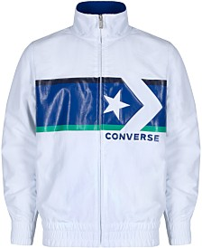 Converse Big Boys Chevron Star Woven Jacket