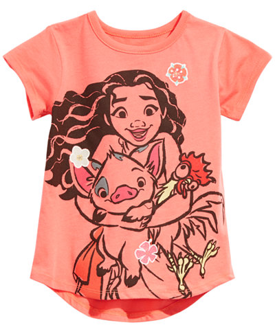 Disney Little Girls Moana T-Shirt