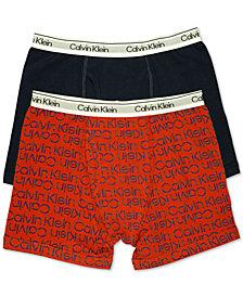 Calvin Klein Little & Big Boys 2-Pk. Boxer Briefs