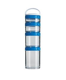 C02501 Gostak Twist N' Lock Storage Jars, Starter 4-Pak