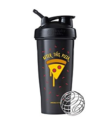 Just For Fun Classic 28-Ounce Shaker Bottle, After This, Pizza