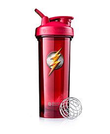 Blenderbottle Justice League Superhero Pro Series 32-Ounce Shaker Bottle, Flash