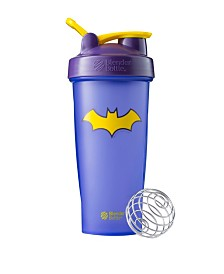 Blenderbottle Justice League Superhero Classic 28-Ounce Shaker Bottle, Batgirl