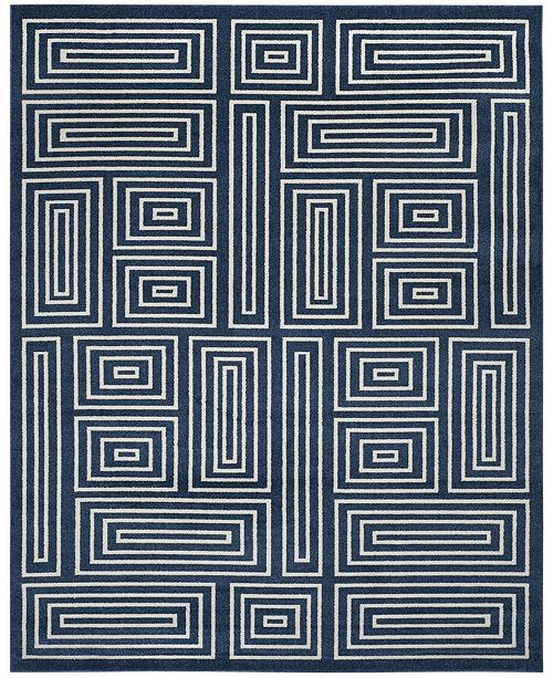 Safavieh Amherst Navy and Ivory 9' x 12' Area Rug