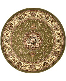 Lyndhurst Sage and Ivory 10' x 10' Round Area Rug