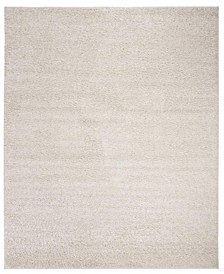 New York Shag Ivory 8' X 10' Area Rug
