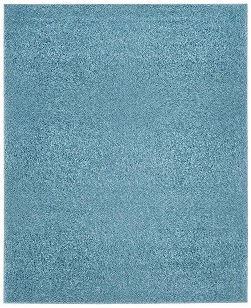 Safavieh Arizona Shag Aqua 9' x 12' Sisal Weave Area Rug