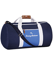 Receive a Complimentary Duffel Bag with any large spray purchase from the Tommy Bahama Men's Fragrance Collection