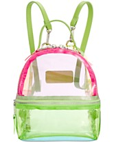 894056bdc6 Steve Madden Benny Clear Backpack