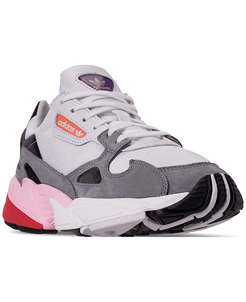 23eeaee4d6145 ... adidas Women s Originals Falcon Casual Sneakers from Finish Line ...