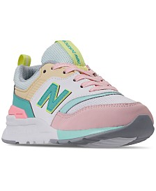 New Balance Girls' 997 Casual Sneakers from Finish Line